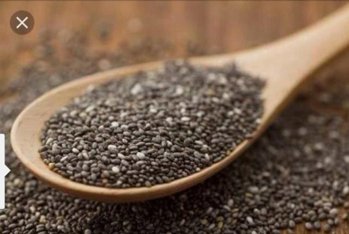 harga Organic black chia seed meksiko 100 gr Tokopedia.com