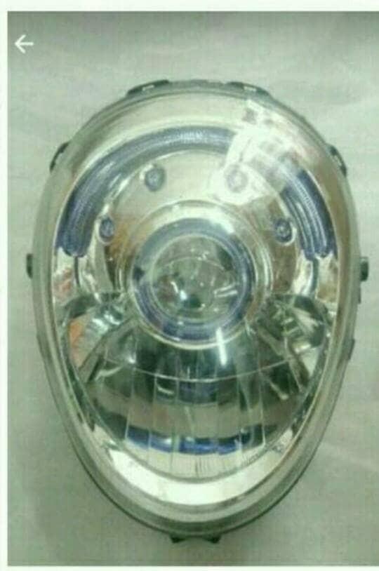 Reflektor / lampu depan / headlamp honda scoopy fi asli