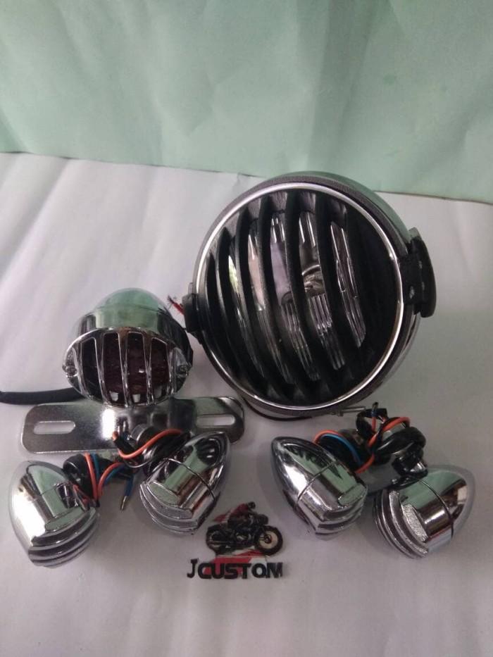 harga Headlamp set crom japstyle Tokopedia.com