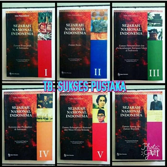 Foto Produk PAKET 6 BUKU SNI - BUKU SEJARAH NASIONAL INDONESIA JILID 1-6 dari SUKSES PUSTAKA