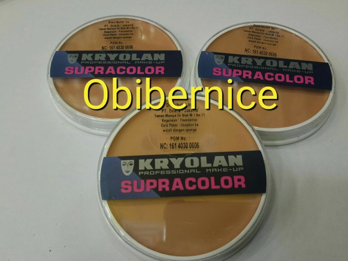 harga Kryolan supracolor germany 15 ml original 100% Tokopedia.com