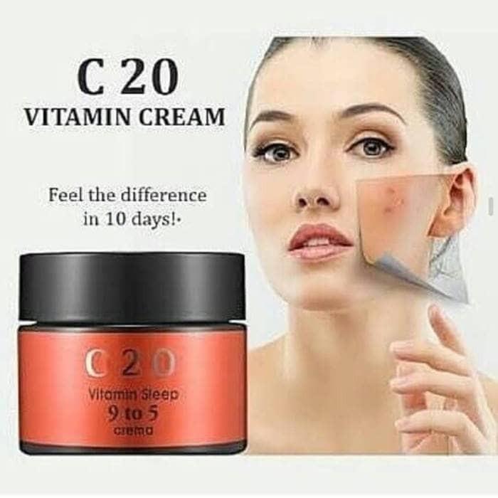 harga Ost c20 vitamin sleep 9 to 5 crema share in jar Tokopedia.com