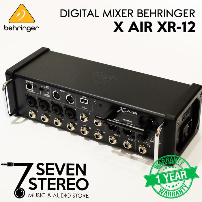 harga Behringer digital mixer x air xr12 with wifi and usb stereo recorder Tokopedia.com