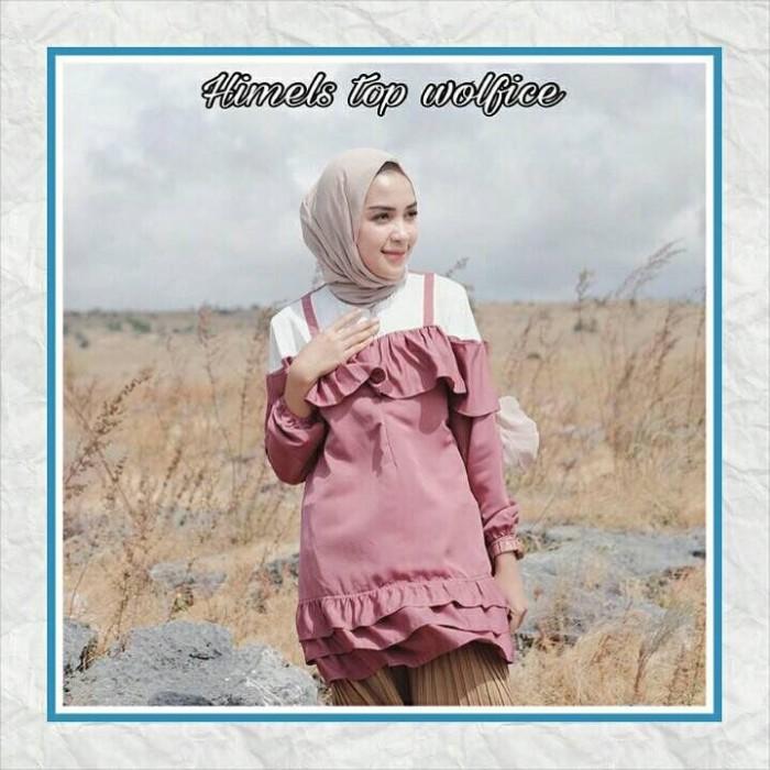 Busana Muslim Wanita / Baju Atasan / Blouse / Himels Top