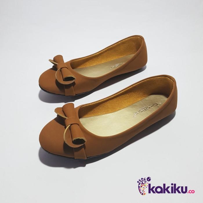 harga Sepatu flat shoes / flatshoes wanita gratica as33 tan / modis / baru Tokopedia.
