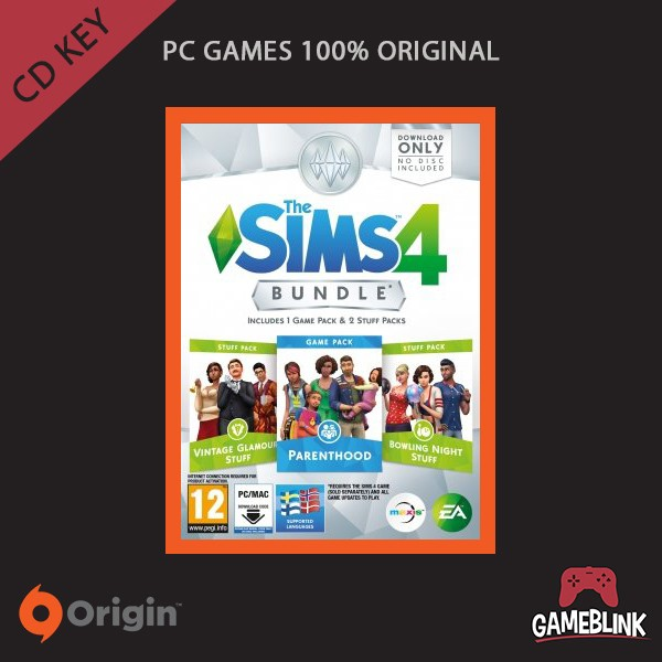 harga [pc games original] the sims 4 bundle pack 5 dlc cd key origin Tokopedia.com