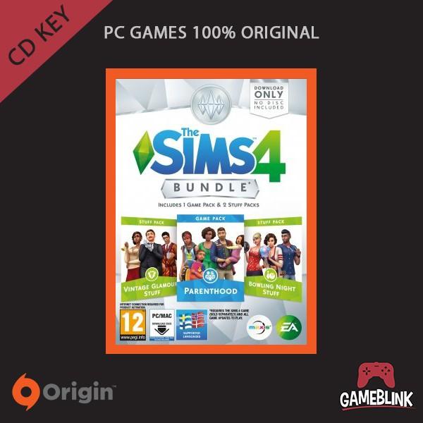 harga [pc games original] the sims 4 bundle pack 5 dlc cd key origin Tokopedia.com