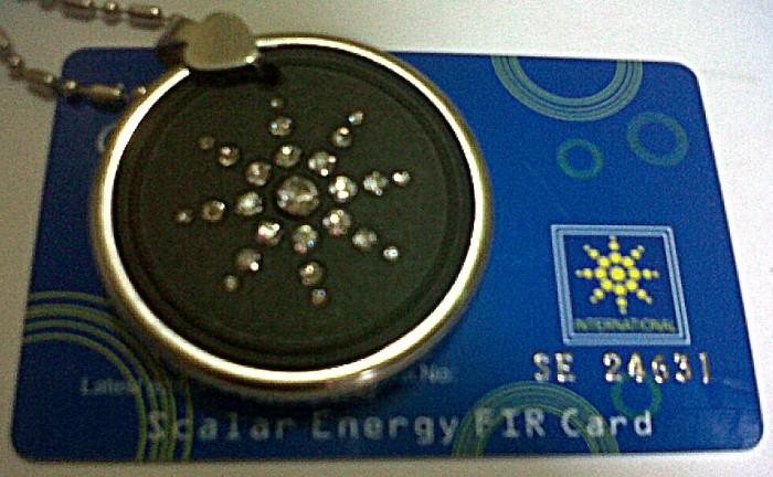 Kalung liontin kesehatan terapi tubuh quantum pendant menambah energi