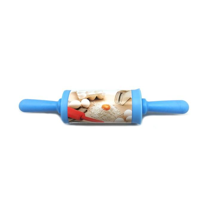 Kiwi Rolling Pin Silikon - Biru