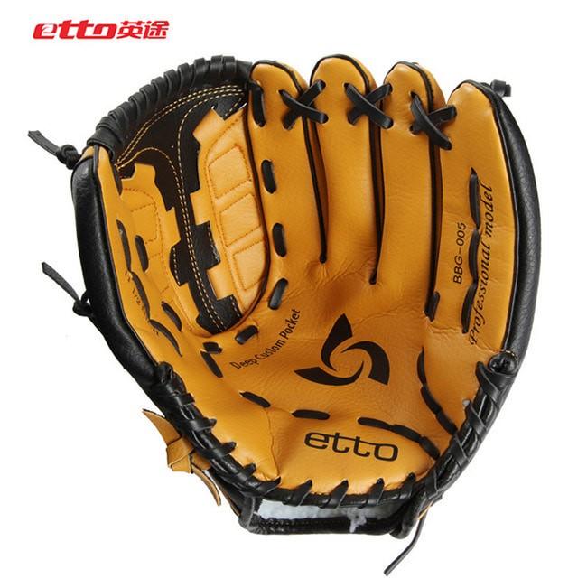 harga Etto baseball mitts gloves - mitt glove softball - sarung tangan kasti Tokopedia.com