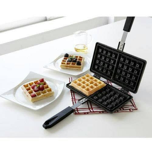 harga Cetakan loyang teflon waffle kotak Tokopedia.com