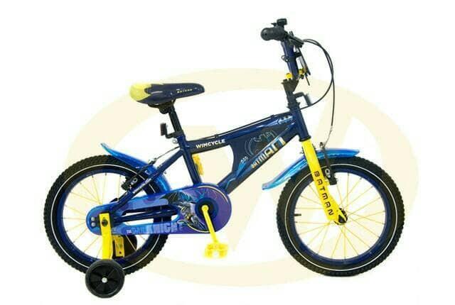 harga Sepeda anak wim cycle batman 16 Tokopedia.com