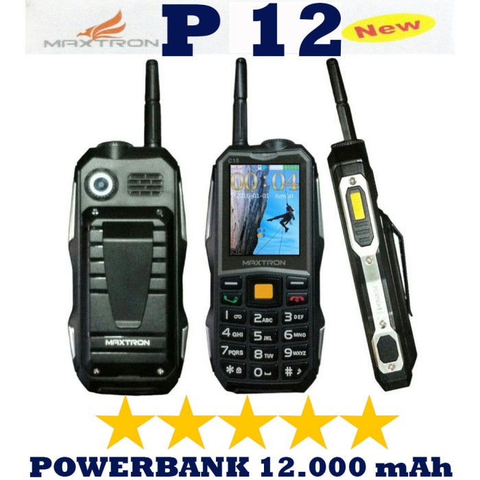 harga Maxtron p12 c15 big speaker outdoor hp gunung dual sim Tokopedia.com