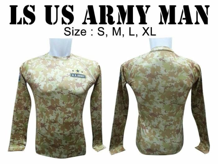 harga Baselayer gym / jersey sepeda us army man - lengan panjang Tokopedia.com