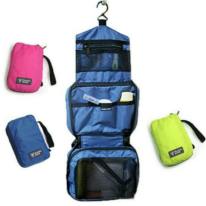 Travel Mate Toilet Bag Organizer Tas Peralatan Mandi Kosmetik