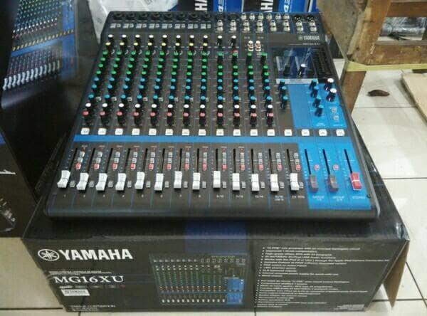 harga Mixer yamaha mg 16 xu / yamaha mixer mg 16xu Tokopedia.com