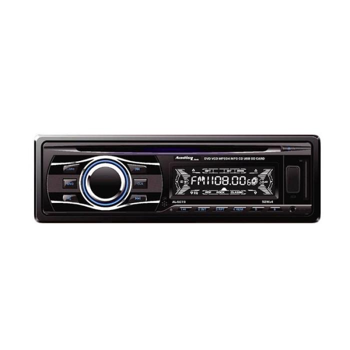 harga Audiolink al-5073 single din dvd player - hitam Tokopedia.com