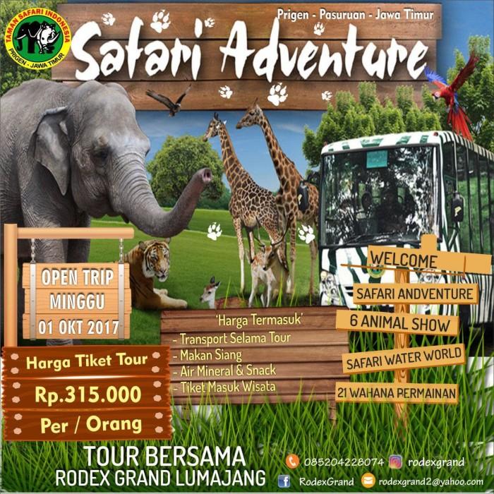 Jual Tour Taman Safari Prigen Kab Lumajang Rodexgrand Lumajang Tokopedia