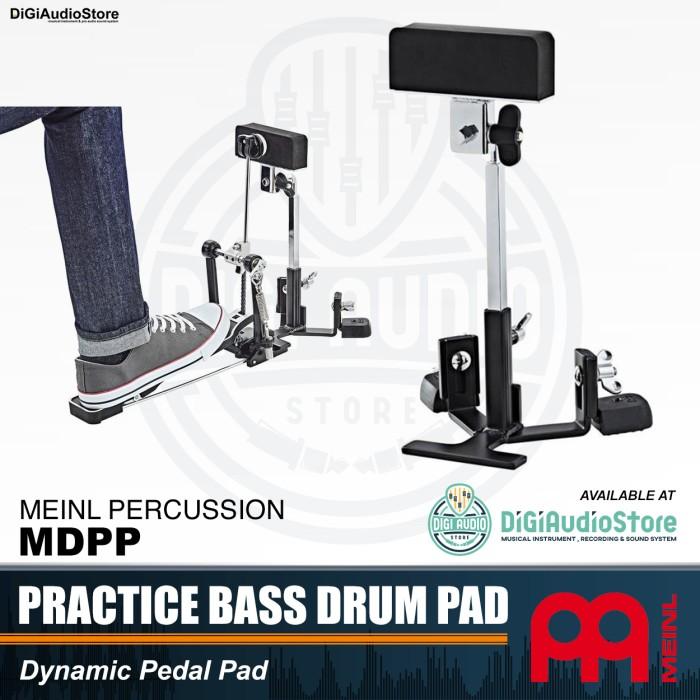 harga Meinl mdpp practice bass drum pad - latihan kick / single double pedal Tokopedia.com