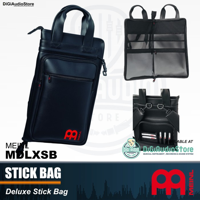 harga Meinl mdlxsb stick bag synthetic leather tas stik drum kulit sintetik Tokopedia.com