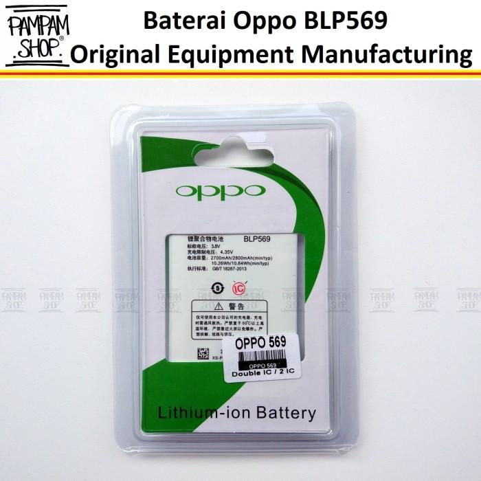 harga Baterai handphone oppo blp569 find 7 / 7a original oem batre batrai hp Tokopedia.com