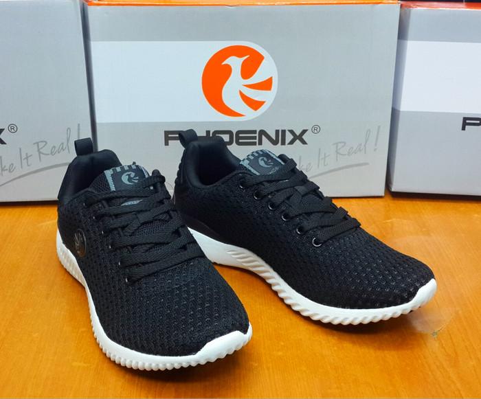 harga Sepatu sneakers phoenix mamba black white original - sport / casual Tokopedia.com