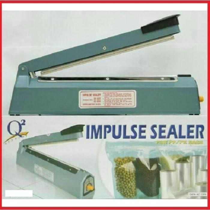 Q2 Impulse sealer PFS- 200 Alat pres plastik