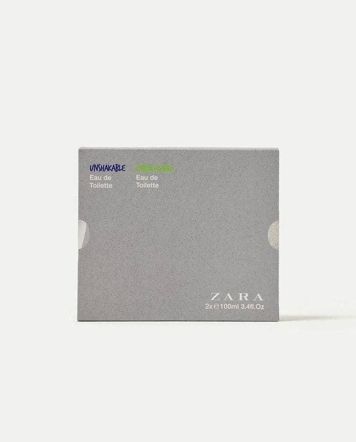 Parfum Original ZARA Unshakable and Zara Unbreakable isi 2 pcs for men