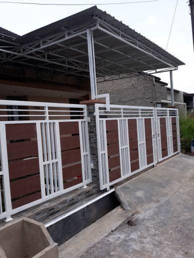 Jual Pagar Minimalis Grc Kab Bandung Rafa Steel Tokopedia