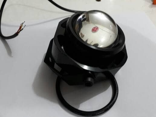 harga Lampu tembak sorot led luxeon slim 10 watt 2 mode strobo Tokopedia.com