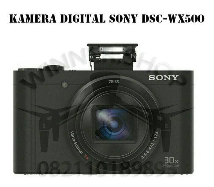 Kamera digital 30x optical zoom sony dsc-wx500