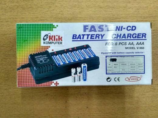 Info Battery Charger Vanson Model Hargano.com