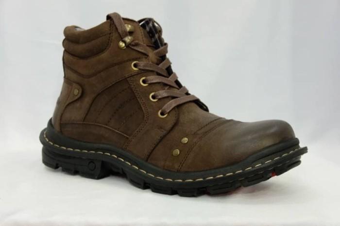 harga Sepatu boot pria jim joker original jeruk 02 (best price) Tokopedia.com