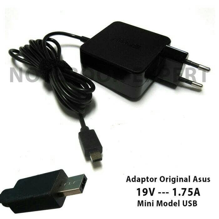 harga Original adaptor charger asus 19v-1.75a mini usb eeebook x205t x205ta Tokopedia.com