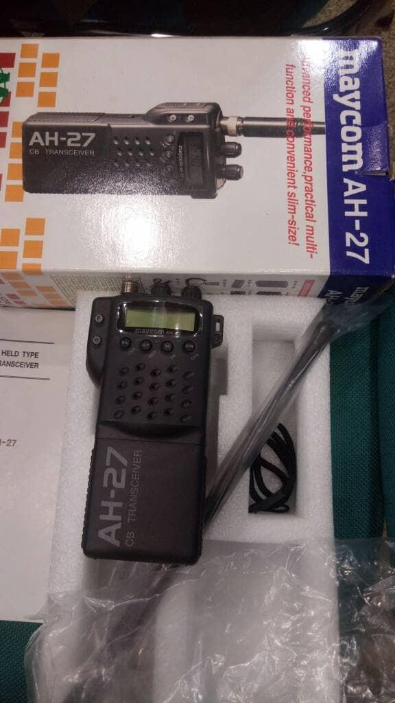 Foto Produk maycom AH27 ht cb mode am dan fm dari TOM ELEKTRONIK