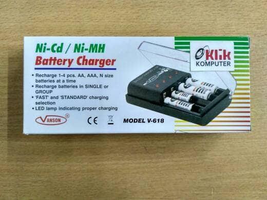 Katalog Battery Charger Vanson Model Hargano.com