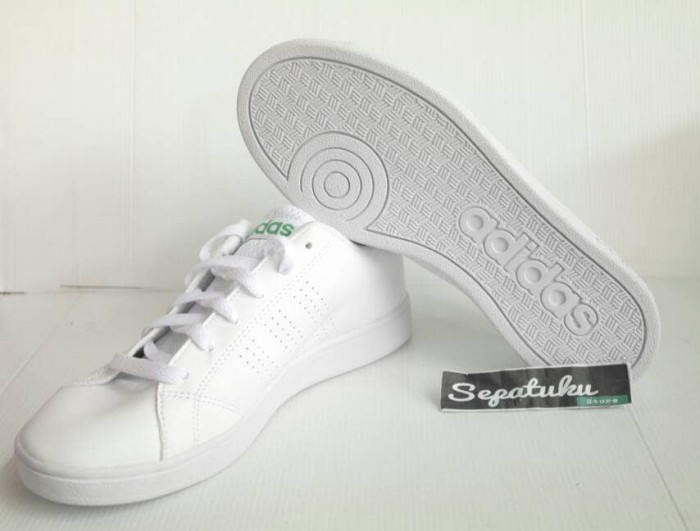 0224a8d273ed ... promo code for sepatu adidas neo advantage clean white list green a8afb  b0689