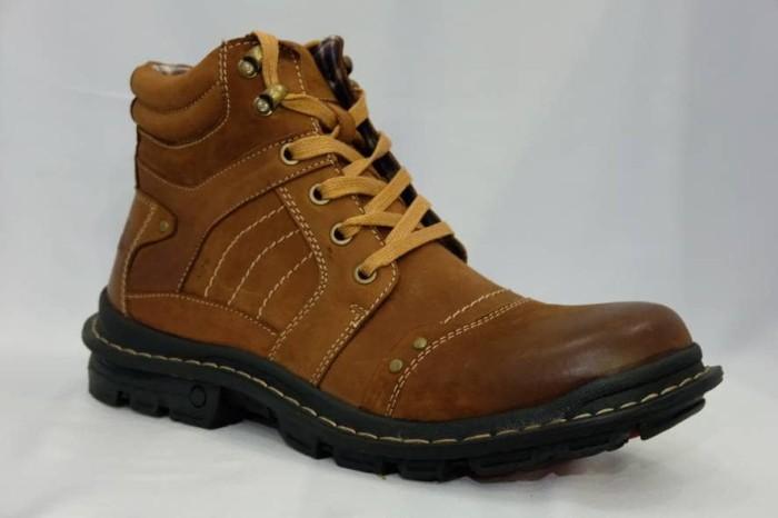 harga Sepatu boot pria jim joker original jeruk 02 Tokopedia.com