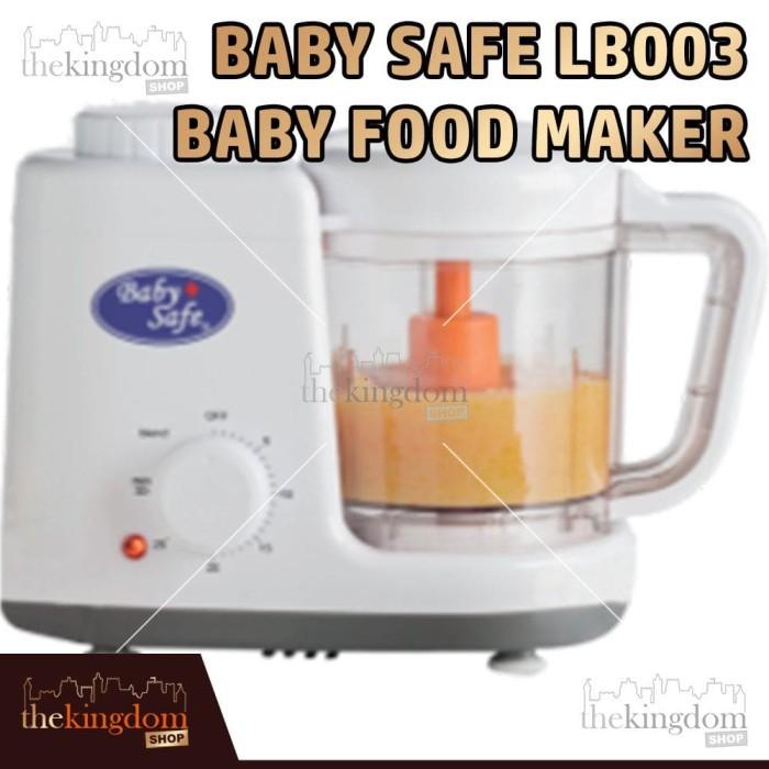 Baby Safe LB003 Baby Food Maker Mesin Mengukus / Penghalus / Blender