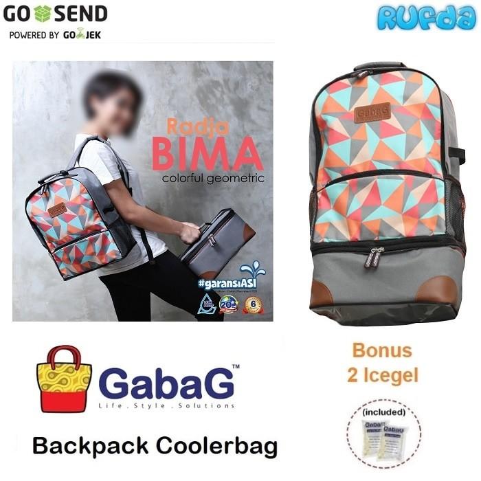 Gabag radja bima tas pendingin asi cooler bag backpack ransel
