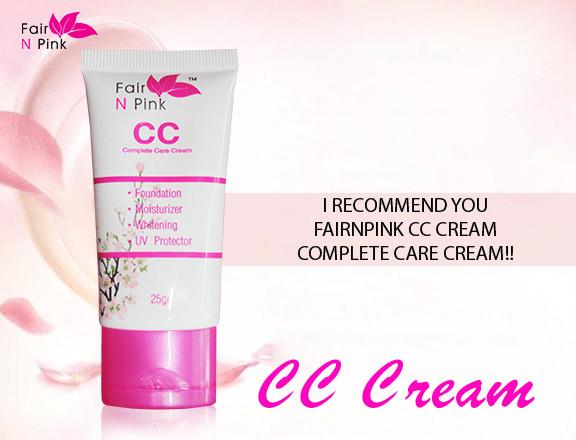 Cc cream fair n pink original