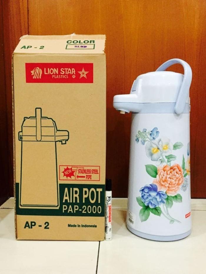 Kända Jual Termos Pencet Lion Star Air Pot 2 Liter - Kota Depok - Alice QQ-15