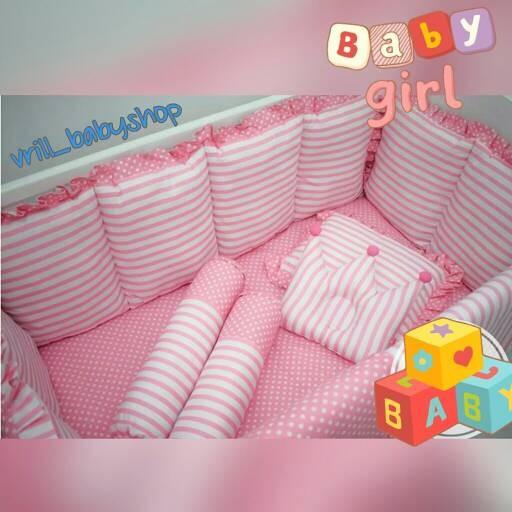 harga Bumper set bayi | bumper baby box | plus bantal crown | motif request Tokopedia.com