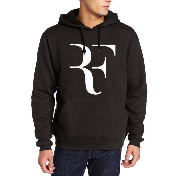 Hoodie jaket roger federer sweater pria wanita