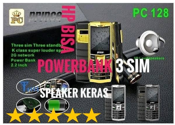 harga Prince pc128 vertu ferrari pc 128 triple 3 kartu sim Tokopedia.com