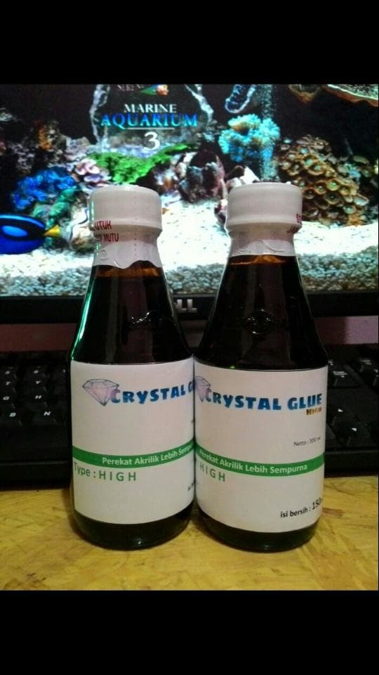 harga Lem akrilik - acrylic glue crystal type high 180ml Tokopedia.com