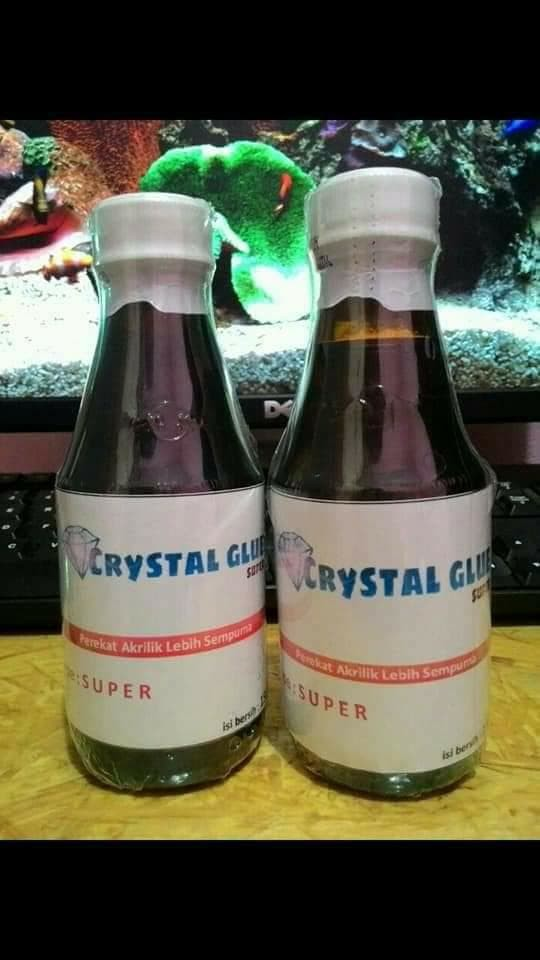harga Lem akrilik - acrylic glue crystal type super 180ml Tokopedia.com