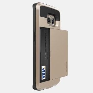 Verus damda slot wallet card id back case galaxy s7/ s7 edge hard case