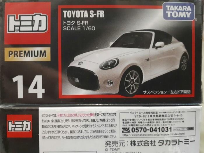 harga Toyota s-fr #14 scale 1/60 by tomica premium Tokopedia.com