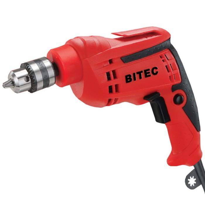 bitec mesin bor listrik 10 mm red series reversible drill dm 3510 re